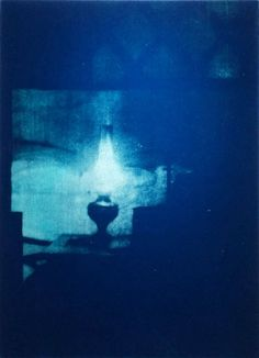 Barnaby Hosking, Yurt Lamp (electric blue), 2014