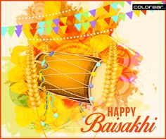 It's Baisakhi!  So get into the festive mood, beat the drums and celebrate the festivity with friends, family & loved ones. #HappyBaisakhi