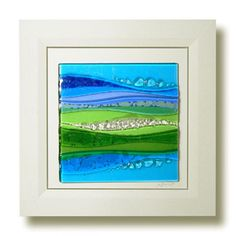 24 Awesome framed fused glass art images