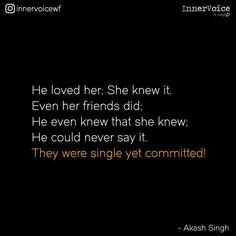Single yet comiited