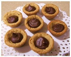 Peanut Butter Fudge Puddles - Favorite Family Recipes
