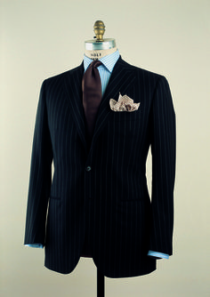 Very classy suit. Inspiration from the archives of Cesare Attolini #2, via The Italian Cut