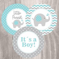 Elephant baby shower printable centerpieces, teal and grey elephant baby . Fiesta Baby Shower, Baby Shower Signs, Baby Boy Shower, Baby Shower Decorations For Boys, Baby Shower Centerpieces, Baby Shower Themes, Elephant Theme, Elephant Baby Showers, Grey Elephant