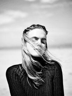 annmarieke van dimmerlen プ portrait vent windy
