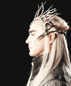 """""""We had to make Thranduil appear so supreme and really quite cold in his attitude. We decided he was above all hair ornamentation."""""""