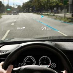 Augmented Reality May Be Coming To A Car Windshield Near You. #car #windshield #technology