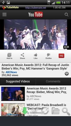 TubeMate YouTube Downloader v1.05.53 build 330 Ad-Free (Android Application)