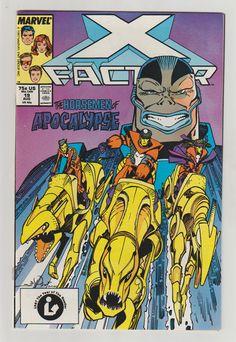X-Factor Vol 1 19 Comic Book.  NM. August by RubbersuitStudios #xfactor #ageofapocalypse #comicbooks