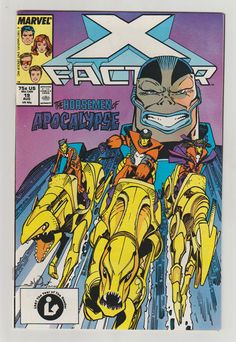 X-Factor Vol 1 19 Comic Book.  NM. August by RubbersuitStudios #xfactor #ageofapocalypse #comicbooks