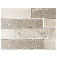Tile shop: Like this!! Bricklane Olive Porcelain Wall and Floor Tile - 3 x 12 in