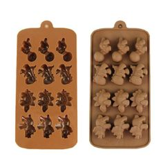 Voberry Dinosaur Pattern Chocolate Mold Pan Silicone Mold Candy Ice Tray Mold Maker Cook Essentials Muffin Pan 3 -- You can get additional details at the image link.