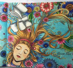 #escapetowonderland #escapetowonderlandcolouringbook #colouringbook…