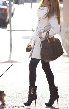 perfect sassy winter outfit!
