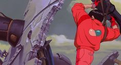 Steam Icon, Akira Kaneda, Katsuhiro Otomo, Neo Tokyo, Comic Layout, Retro Waves, Animation Reference, Aesthetic Gif, Ghost In The Shell