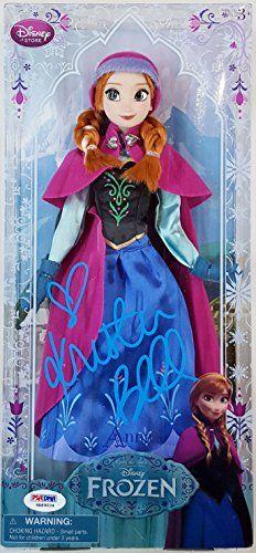 Kristen Bell Signed Disneys Frozen Voice Of Anna 12 Doll PSA ITP 6A89004 @ niftywarehouse.com #NiftyWarehouse #Frozen #FrozenMovie #Animated #Movies #Kids