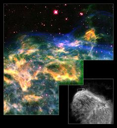 Image of the Day: Emerging Supernova --A Red Giant Exploding