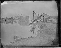Ruins of Galligo Mills, Richmond, Virginia by The U.S. National Archives (Mathew Brady)