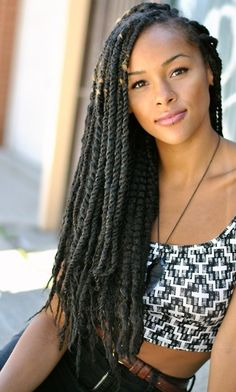 The Senegalese Twists Styles.  Numerous Twists Styles.