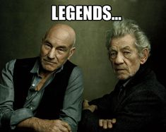 Legendary friendship…