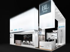 Exhibition stand for BL group