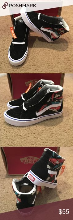 Classic Clash SK8-Hi Lite Vans New in box. Black white Vans Shoes 0c3f116b2d74