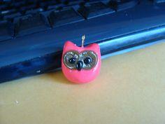 cute little baby owl charm.