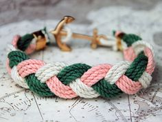 Hansen & Hadley just bought this for their Mommy for Valentine's Day - KJP Turk's Head Sailor Bracelet