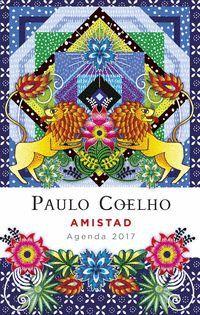 Agenda Amistad 2017 de Paulo Coelho, ilustrada por Catalaina Estrada