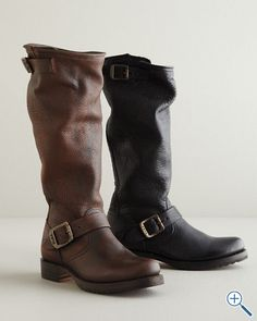 Frye Veronica Slouch Boots Love them with leggings, jeans, skirts, dress-up or casual, they pretty much go with everything and couldn't be more comfortable