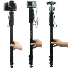 """Hot selling WT1003 WT 1003 Professional Alloy Camera tripod Monopod Lightweight 67""""(171cm) for Sony Canon Nikon DSLR Universal-in Tripods from Consumer Electronics on Aliexpress.com 