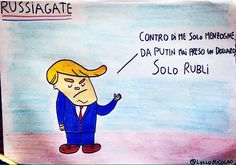 Il presidente degli Stati Uniti Donald Trump e Russiagate.