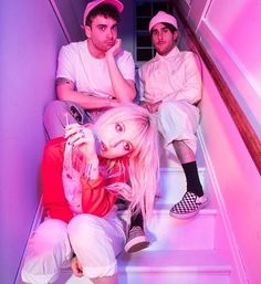 pin: @tigersnark | Paramore on the cover of the Guardian Guide