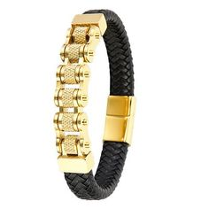 Alle Armbänder Der Arm, Leather Jewelry, Leather Bracelets, Gold Chains, Leather Men, Jewelry Design, Black, Jewellery, Watches