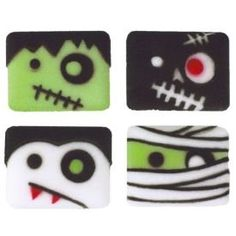 Monster Robots Assorted Edible Sugar Decons * You can find more details by visiting the image link. (This is an affiliate link) #FrostingIcingandDecorations
