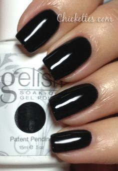 Gelish Black Shadow Swatch