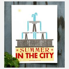 Summer In The City now featured on Fab.