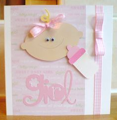 Cute, Doodlecharms cart...baby face & bottle..easy to do..