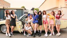 twice, mina, and sana image Nayeon, Twice Jungyeon, Twice Sana, Kpop Outfits, Retro Outfits, Extended Play, South Korean Girls, Korean Girl Groups, K Pop