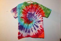 Multi Colored Spiral Child's Size X Small/Small - Sunshine Tie Dye Shop
