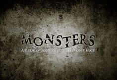 Monsters Font - Display - 1
