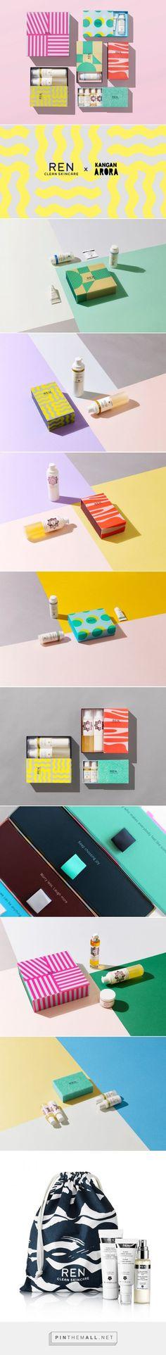 Kangan Agora for REN Skincare Christmas Package / Designed by Kangan Arora in Collaboration with REN Skincare