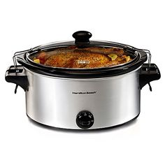 Hamilton Beach® Stay or Go 6-Quart Slow Cooker compare to Set & Forget per CE -- probably the best crockpot