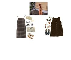 """""""my emotions creepin"""" by hurricaned ❤ liked on Polyvore featuring Boohoo, Elizabeth and James, Tatty Devine, Oleg Cassini, Chanel, Prada and Dr. Martens"""