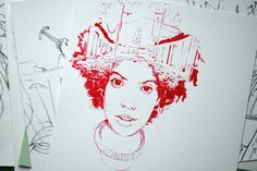 sketches 2013-2015 on Behance