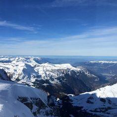 Alpi svizzere innevate