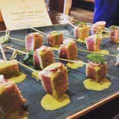 Did you try albacore tuna crudo at our It's one of our favourite dishes on new menu! New Menu, Executive Chef, Whistler, Tuna, Open House, Fresh, Dishes, Dining, Food