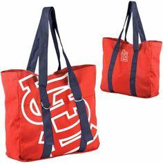 St. Louis Cardinals Ladies Big Logo Tote - Red/Navy Blue