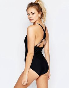 381d9c1f927a Boohoo | Boohoo Boutique Macrame Back Swimsuit at ASOS Saved Items, Asos,  Boutique,
