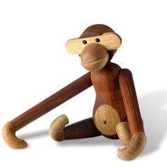 Kay Bojesen Monkey, large #KayBojesen www.kaybojesen-denmark.com