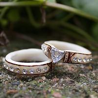 The Antlered Doe Sophia ring set
